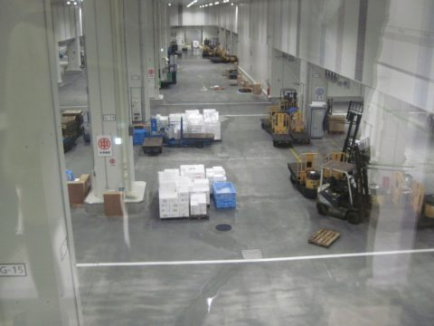 水産卸売場