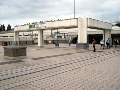 上野駅パンダ橋口
