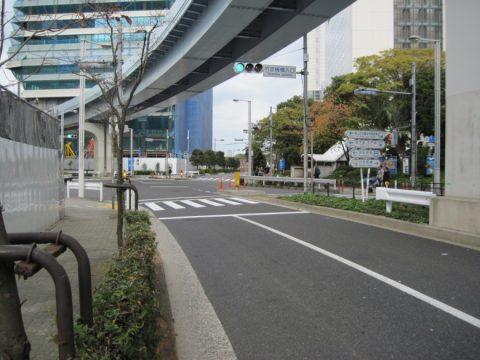 竹芝桟橋入口交差点
